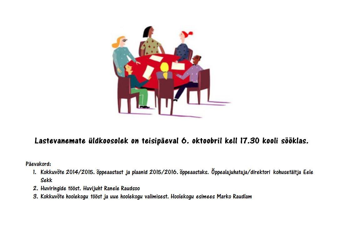 Lastevanemate-koosolek